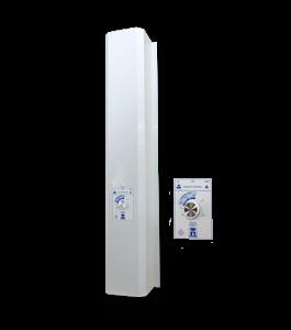 Humidex HDS-209 Heavy Duty Analog Basement Unit -Dehumidifier - Humidity Control - Ventilation