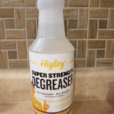 Higley Super Strength Degreaser